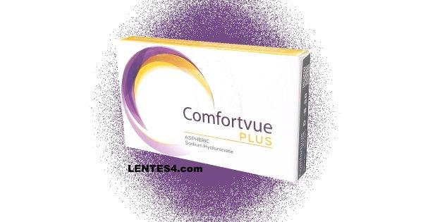 Comfortvue Plus Hipermetropía - Lentes de contacto LENTES4.com - Side FRC