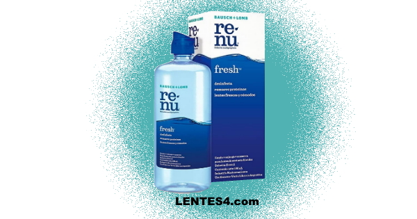 Renu Fresh 500mL - Solución Multipropósito LENTES4.com Side 2020 FRC